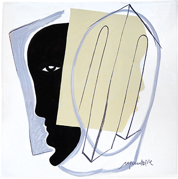 Original multiple de Rebeyrolle Paul : Scarf Maeght II