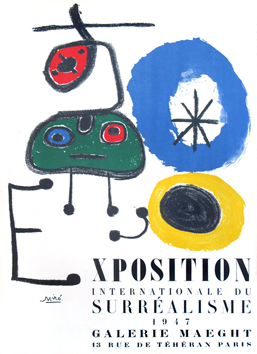Affiche de  : Exposition internationale du Surréalisme