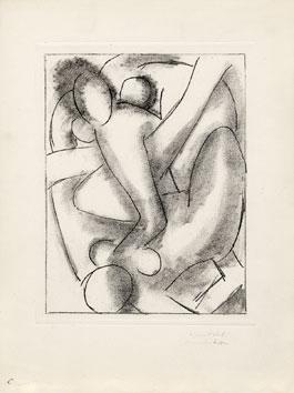 Matisse Henri : Gravure originale signée : Calypso