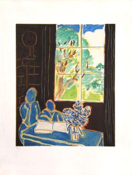 Matisse Henri : Gravure : Le silence habité des maisons