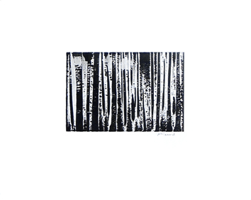 Original signed monotype de Allirand Renaud : Composition LXXXI