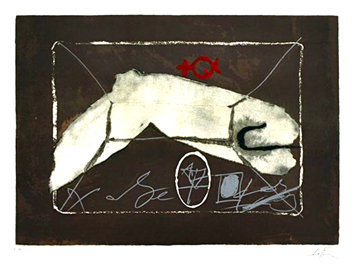Original signed lithograph de  : Without title III