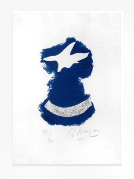 Braque Georges : Lithographie originale sign�e : Le tir � l'arc - Frontispice
