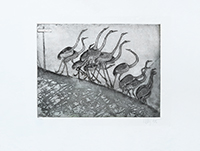 Original signed etching de  : Vers Kullaberg