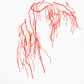 Original signed drawing de  : Branches XXV
