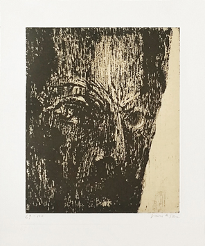Original signed aquatint de  : André Malraux