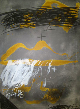 Original signed lithograph de  : Mouth