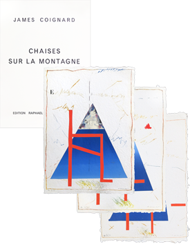 Portfolio with etchings de  : Chaises sur la montagne