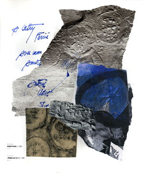 Signed single work de  : Composition XV