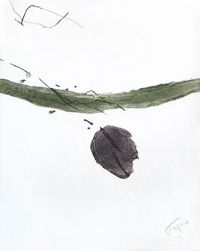 Gravure originale signée de  : Composition III