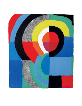 Original signed lithograph de  : Composition V