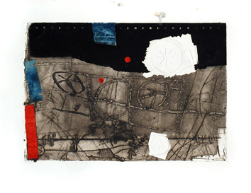 Etching carborundum de  : Without title VI