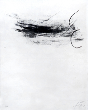 Original signed lithograph de  : Air, planche 5