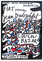 Screenprint poster de  : Coucou Bazar - Turin