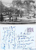 Document manuscrit de Tinguely Jean : Carte postale