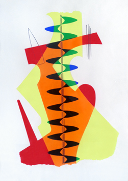 Jacomet process print de Man Ray : Revolving doors: