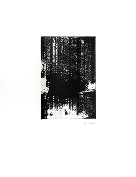 Signierte Originalmonotype de Allirand Renaud : Komposition CI (101)