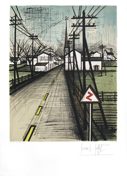 Original signed lithograph de  : The Road