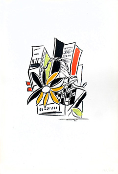 Screenprint de Léger Fernand : Without title
