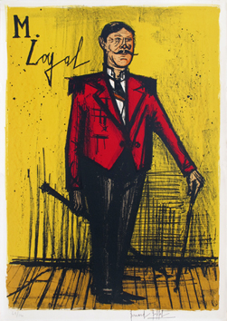 Lithographie originale signée de  : Monsieur Loyal