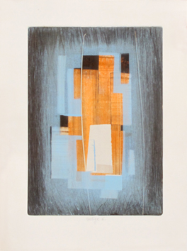 Original signed monotype de  : Vertige 6