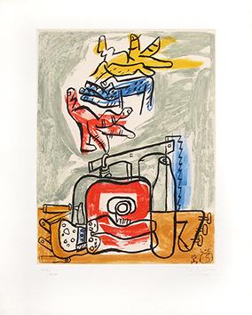 Gravure originale signée de  : Unité, Planche n°5