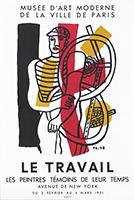 Plakat Mourlot Drucker de  : Le travail