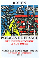 Poster de Léger Fernand : Landscapes of France