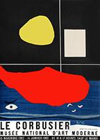 Manifesto di mostra Mourlot de  : Musée National d'Art Moderne 1962