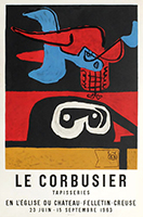 Cartel de  : Le Corbusier Tapisseries