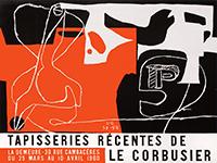 Ausstellung Plakat de  : Le Corbusier – Tapisseries Recentes