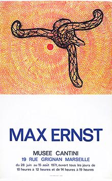 Affiche d'exposition de  : Musée Cantini