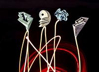 Signiertes Unikat-Werk de  : Flowers