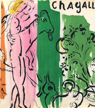 Book with lithographs de  : Chagall by Lassaigne