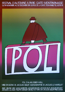 Screenprint poster de  : P.O.L. II