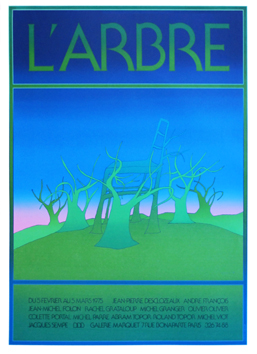 Screenprint poster de  : The tree