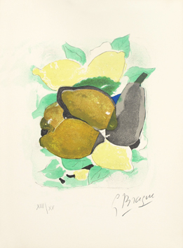 Original signed lithograph de  : Lemons