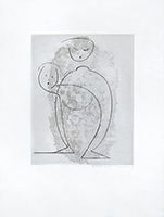 Dedicated original etching de  : Without title IV