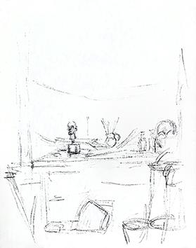 Lithographie originale de  : Paris sans fin, planche 106