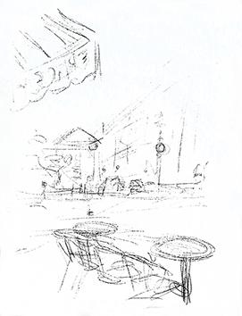 Lithographie originale de  : Paris sans fin, planche 124