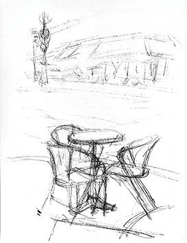 Lithographie originale de  : Paris sans fin, planche 125