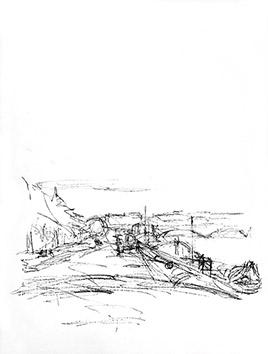Lithographie originale de  : Paris sans fin, planche 64