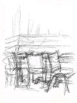 Lithographie originale de  : Paris sans fin, planche 85