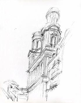 Lithographie originale de  : Paris sans fin, planche 69