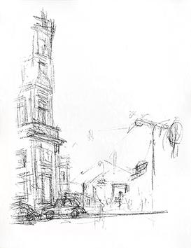 Lithographie originale de  : Paris sans fin, planche 47