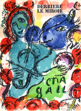 Issue DLM lithograph de Chagall Marc : DLM n°198