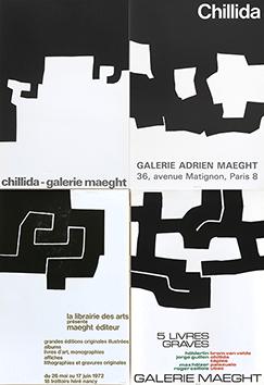 Affiche lithographie de  : Affiches d'exposition - Maeght