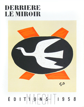 Issue DLM lithographs de Braque Georges : DLM n°112