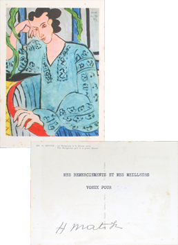 Original document de  : Best wishes for year 1953