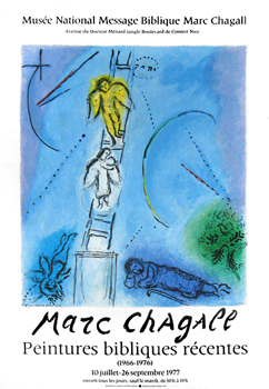 Poster de Chagall Marc : Biblical paintings II